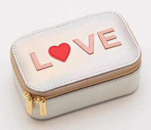 Estella Bartlett Silver Love Jewellery Box