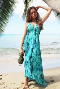 Sophia Alexia Carribean Dream Silk Ibiza Dress