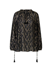 Ilse Jacobsen Black Sparkle Blouse