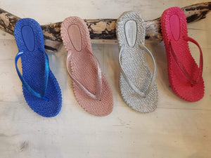 Ilse Jacobsen Flip Flops with Glitter