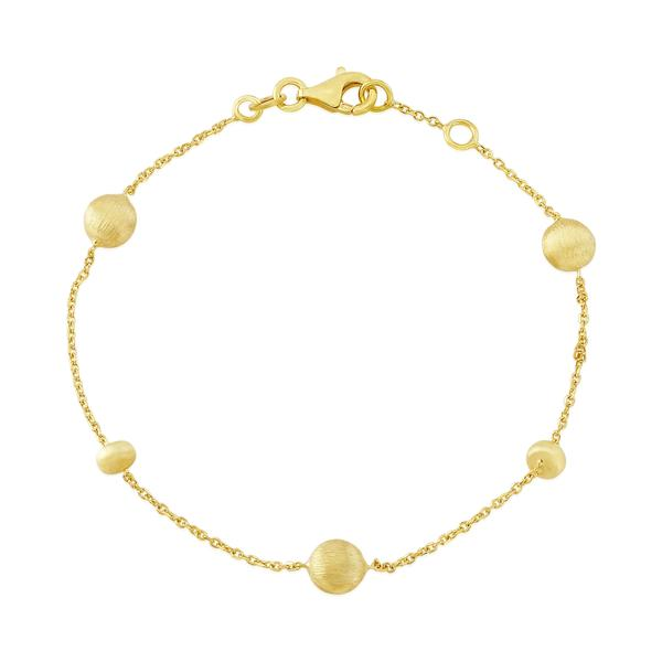 Auree 18ct Yellow Gold Vermeil Nugget Braclet