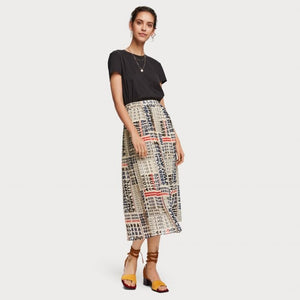 Scotch and Soda Pleated Skirt
