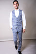 Marc Darcy Jack Grey Check Three Piece Suit