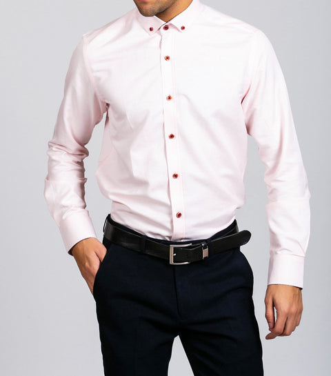 Marc Darcy Charles Pink  Button Down Collar Shirt