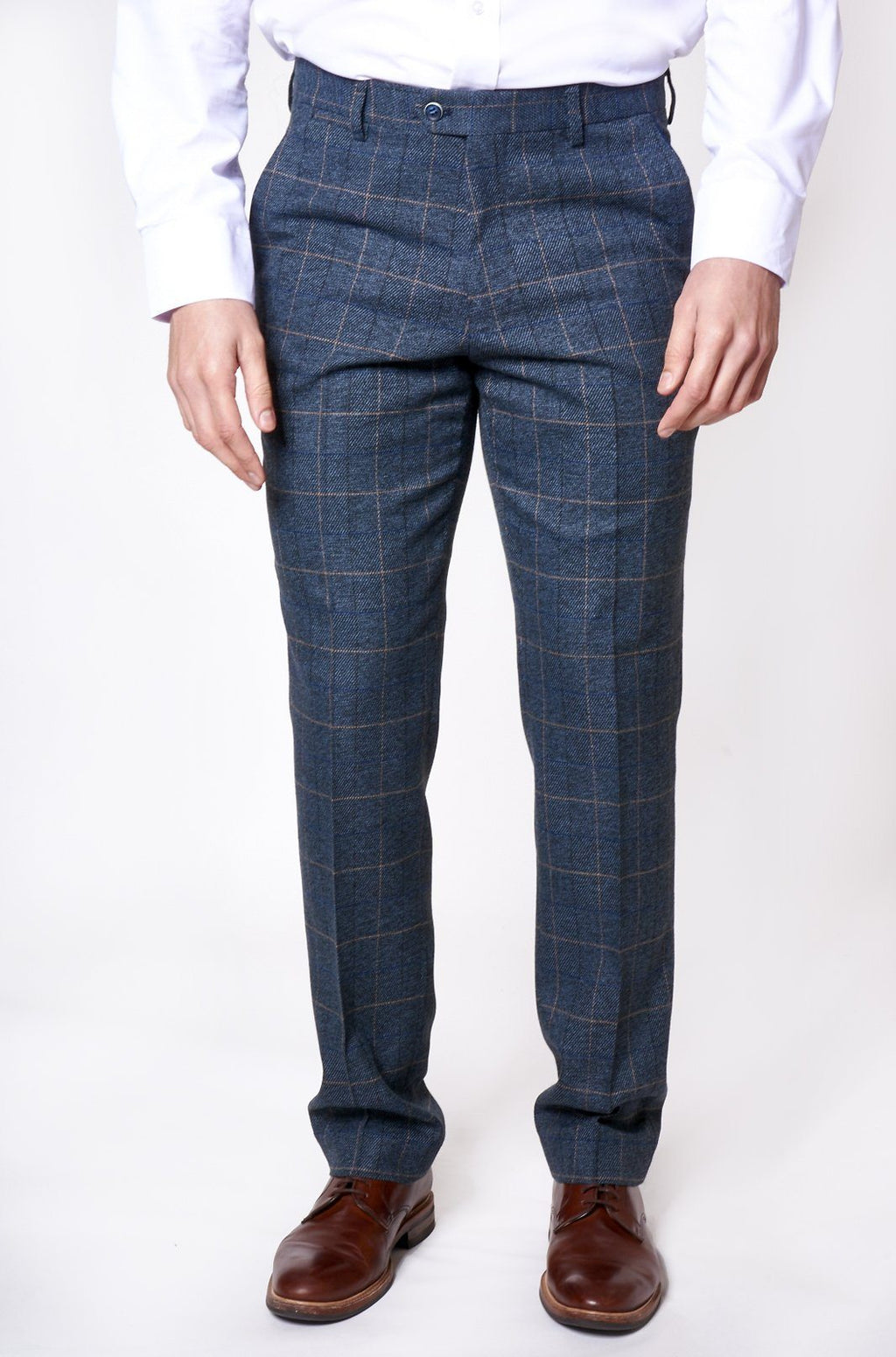 Marc Darcy Scott Blue Trousers