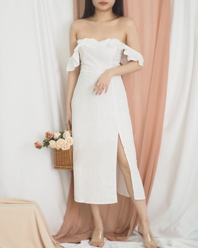 Aurelie Linen Dress