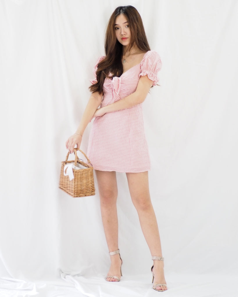 Abigail Dress (PINK)