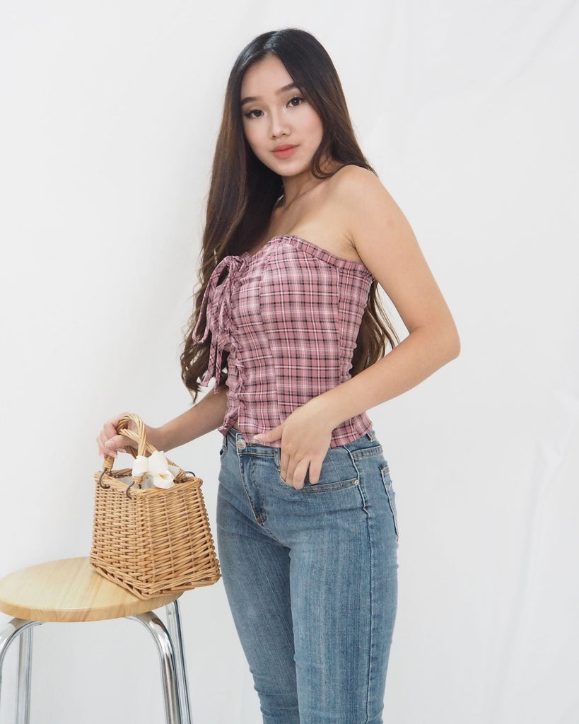 Adora Top (CHECKERED)