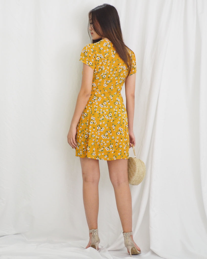 Aria Dress (YELLOW) (BACKORDER)