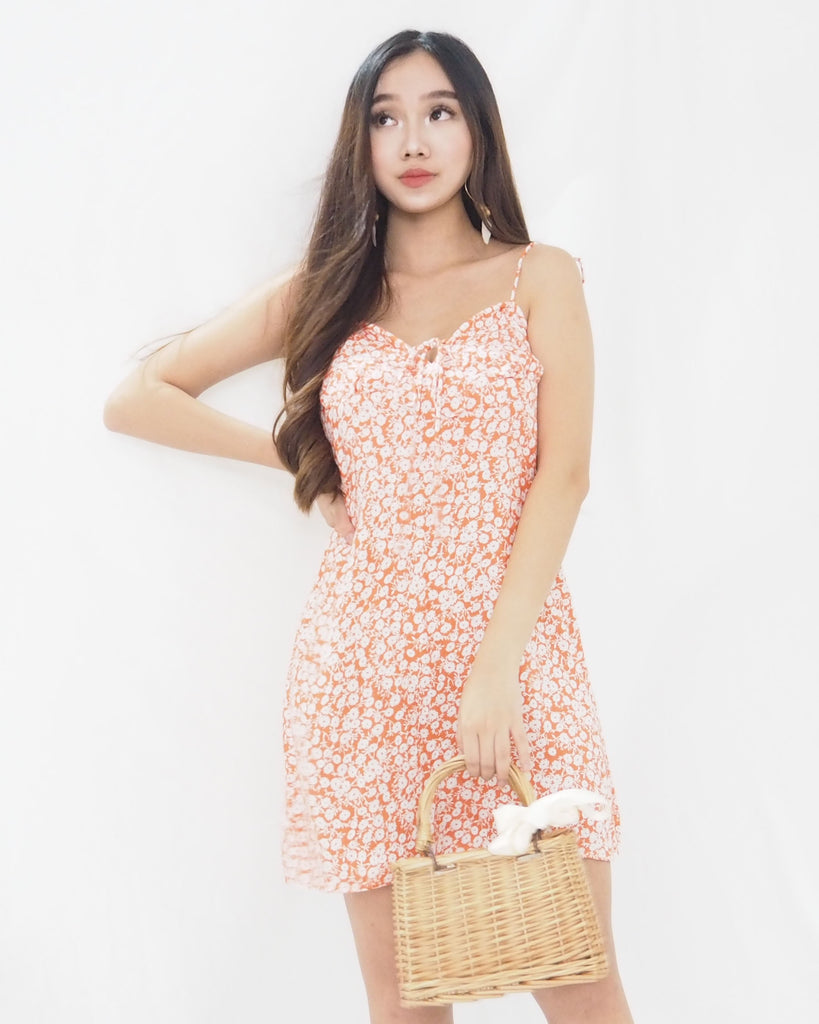 Beatrice Dress (ORANGE)