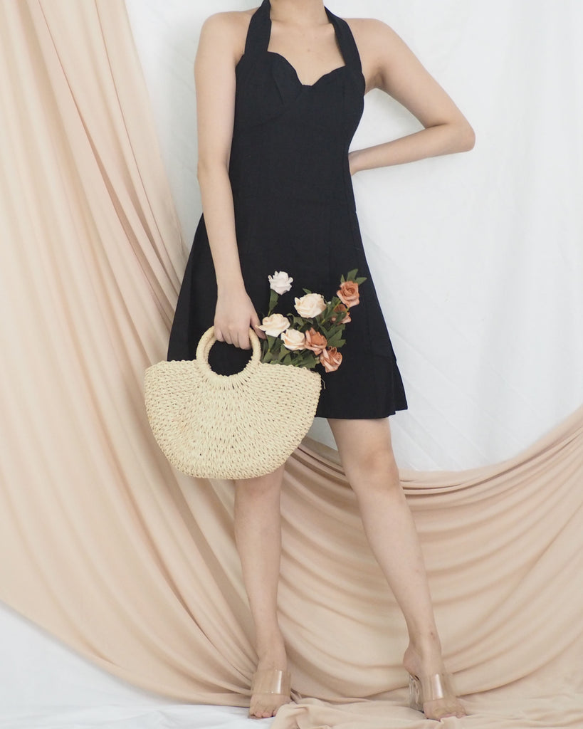 Chester Halter Dress (BLACK)