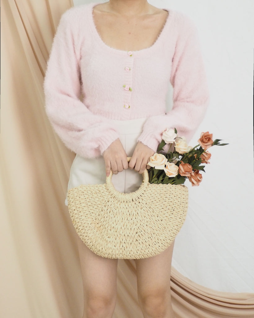 Maeko Furry Top (PINK)