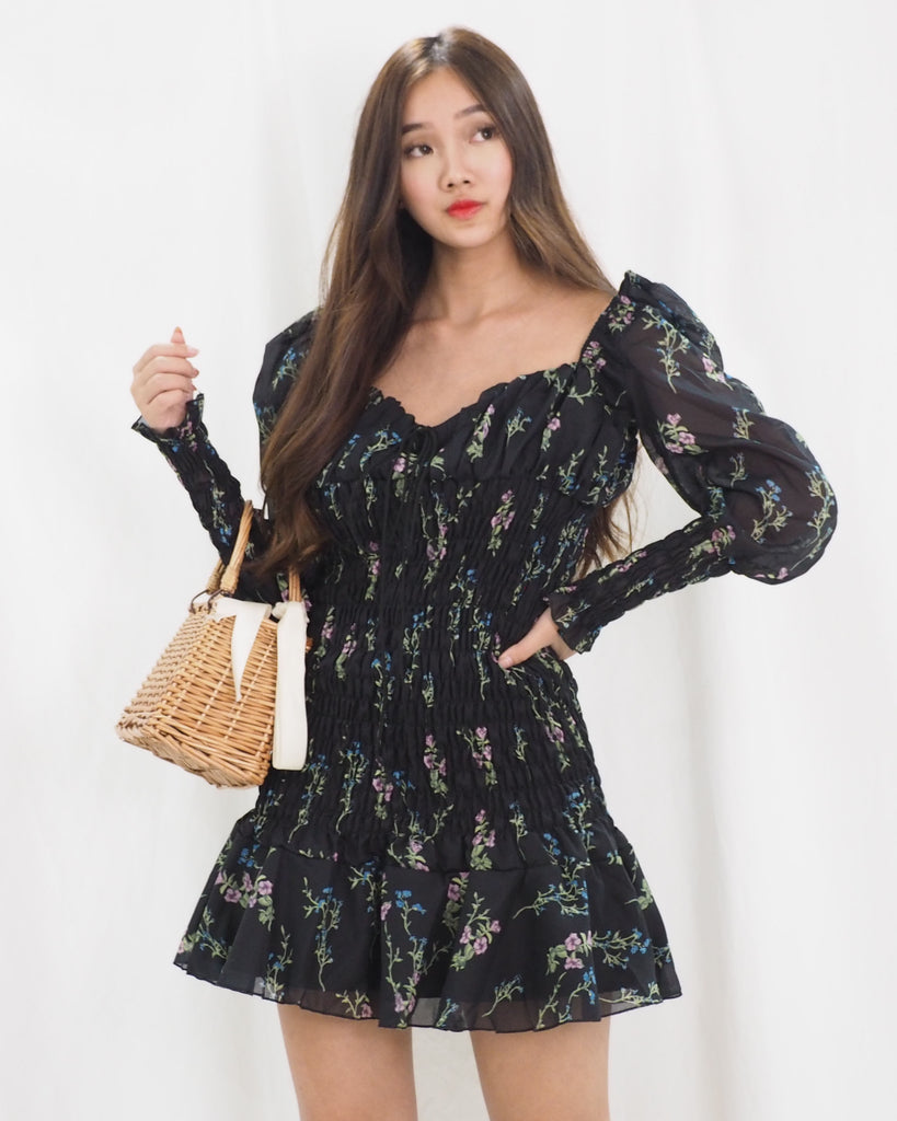 Elizabeth Dress (BLACK)