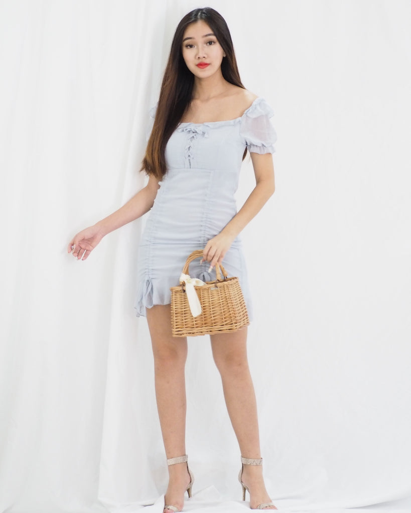 Erielle Dress (BLUE)