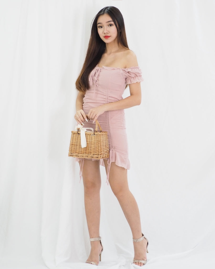 [BACKORDER] Erielle Dress (PINK)