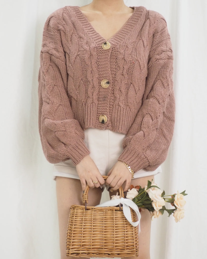 Evetta Outerwear (ROSE PINK) (BACKORDER)