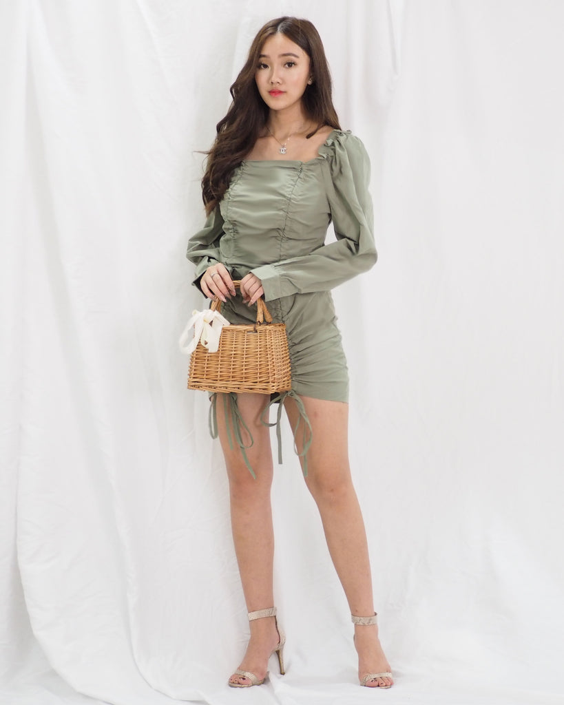 Gianna Dress (GREEN)