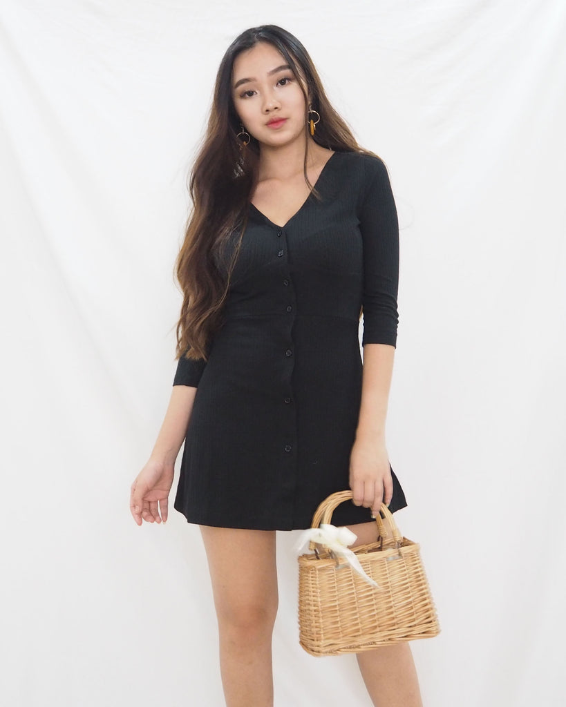 Gia Dress (BLACK)