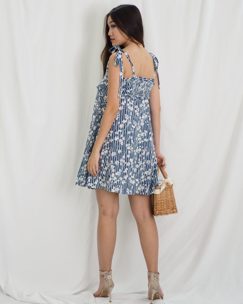 Jacee Dress (BLUE)