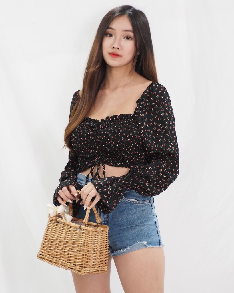 Lysha Top (BLACK)