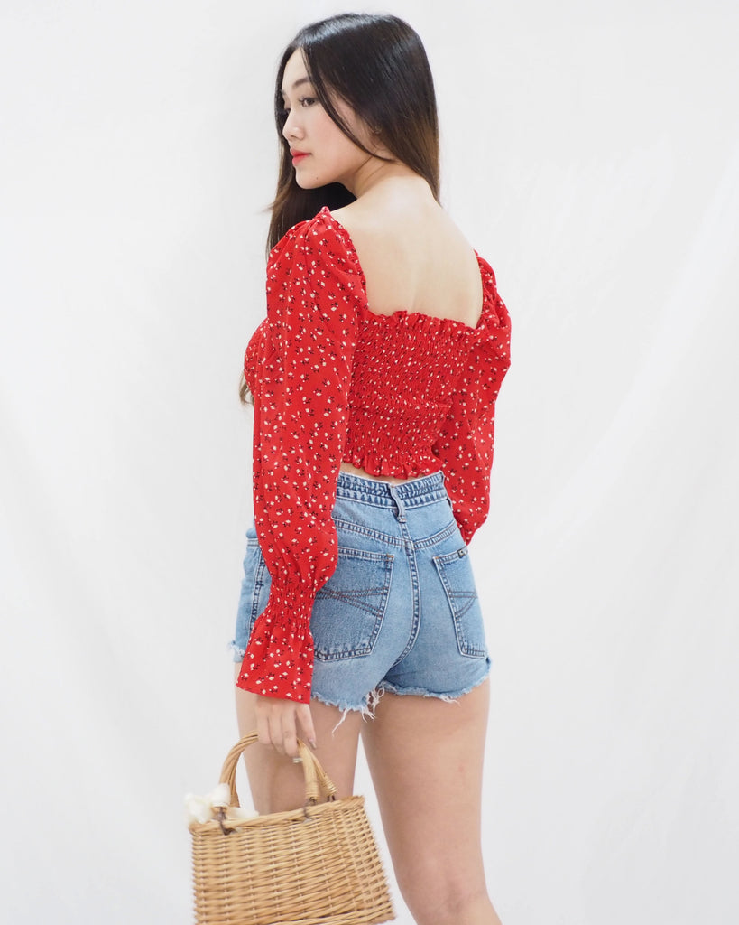 Lysha Top (RED)