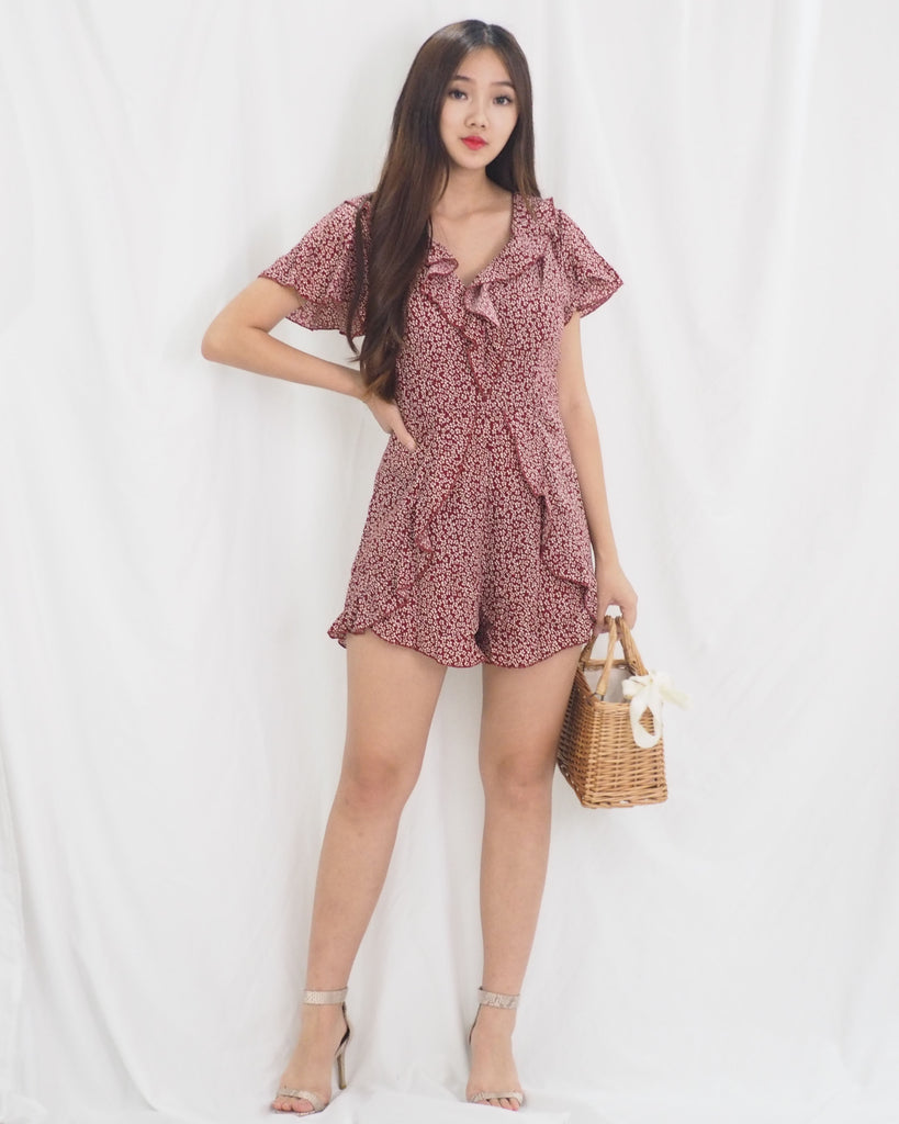 Mellen Playsuit (RED)