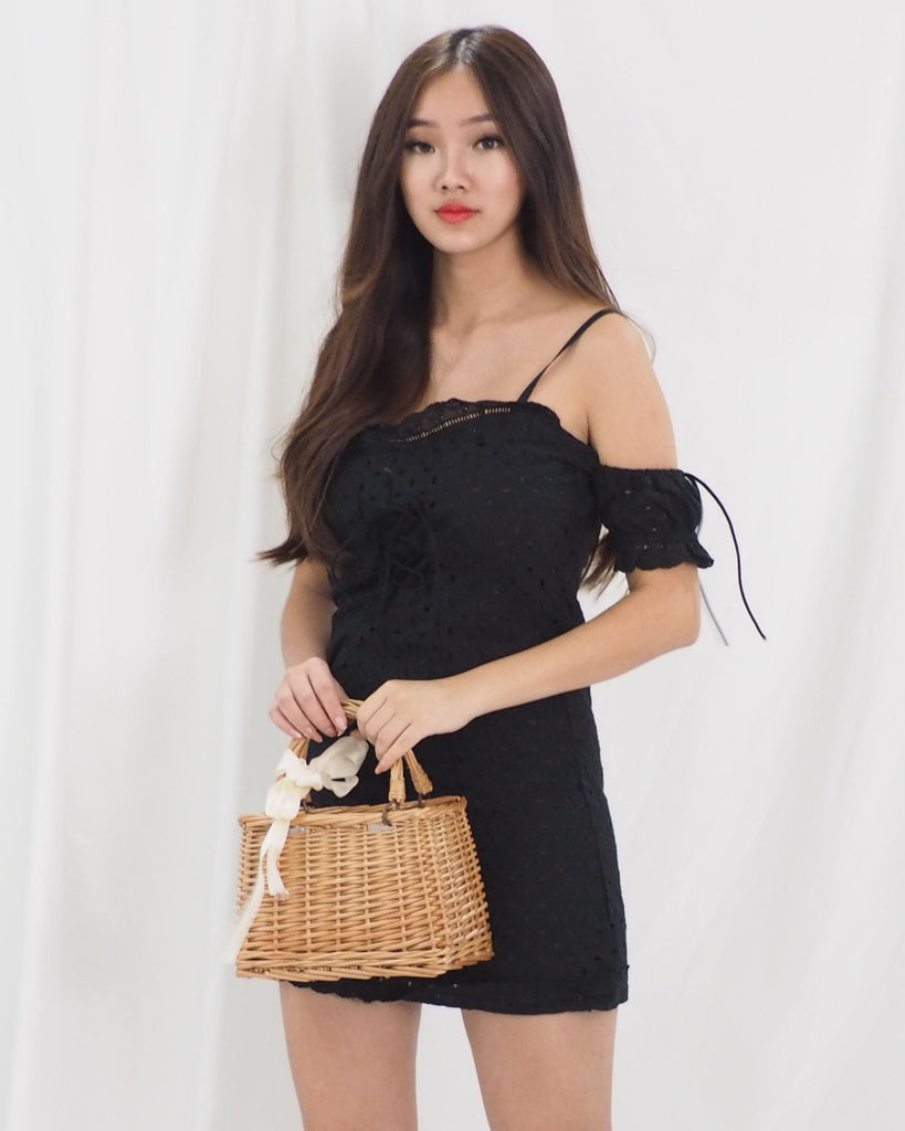 Natalie Dress (BLACK)
