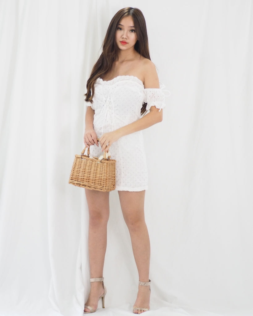 Natalie Dress (WHITE)