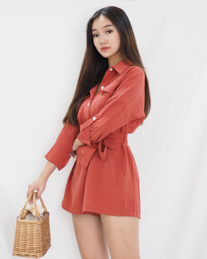 Noma Playsuit (RED)