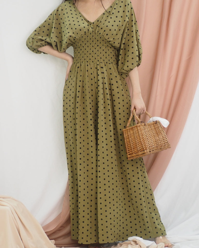 Lisette Jumpsuit (GREEN)