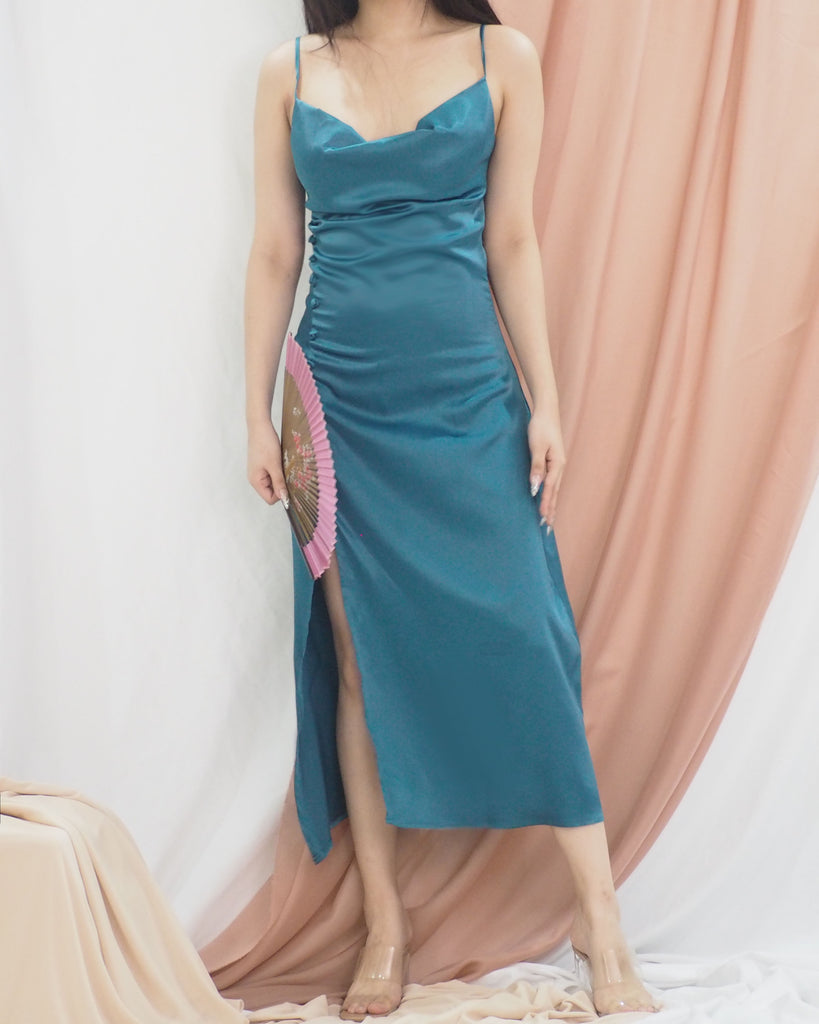 Blaire Dress (EMERALD GREEN)