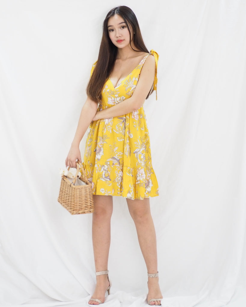 Ramel Dress (YELLOW)