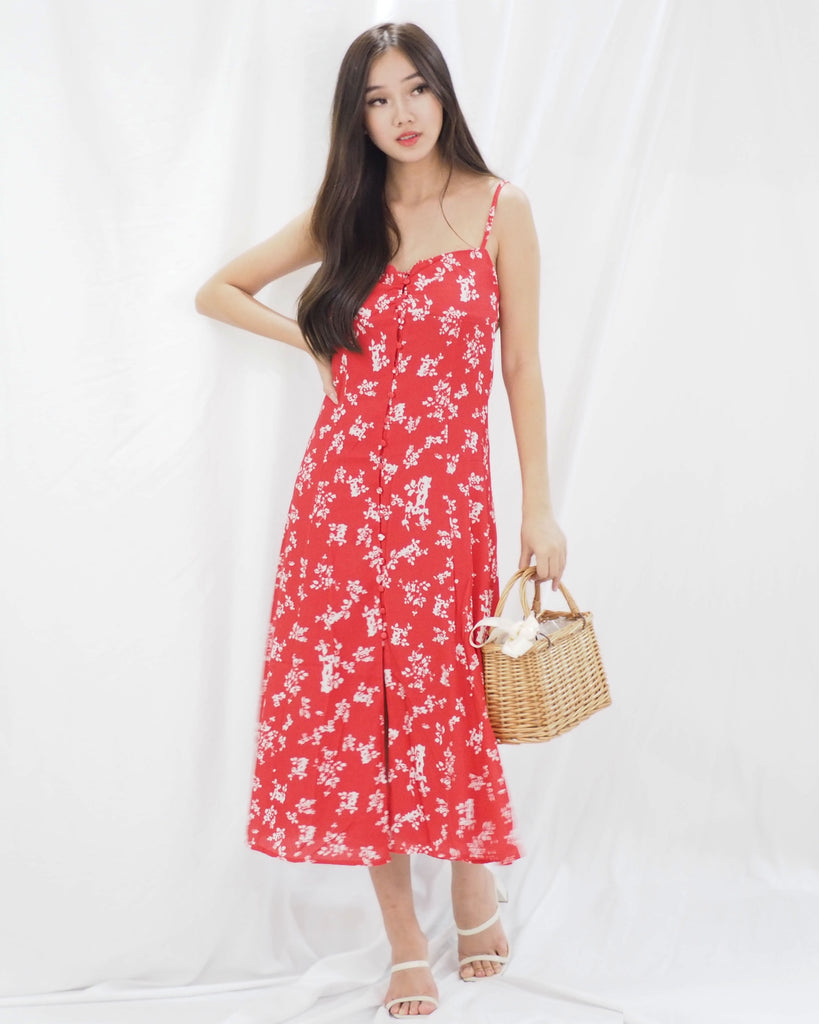 Valda Dress (RED)