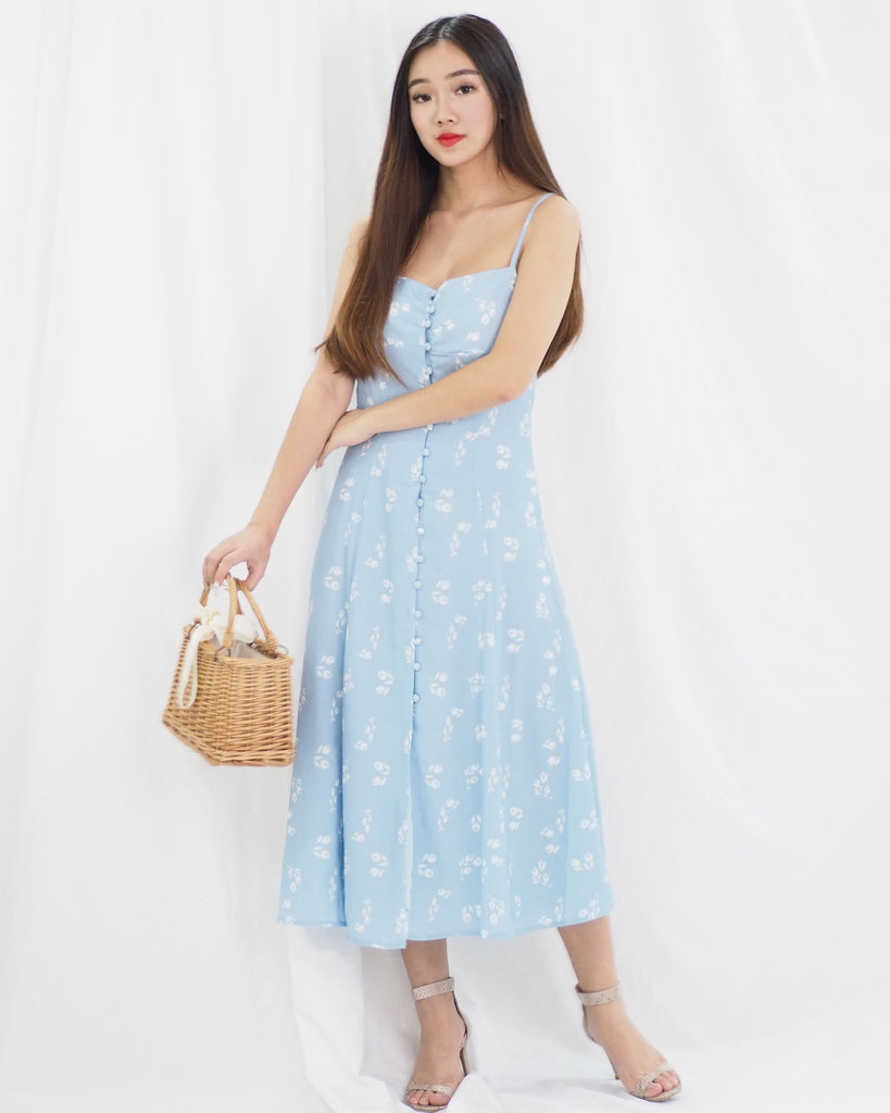 [RESTOCKED] Valda Dress (BLUE)