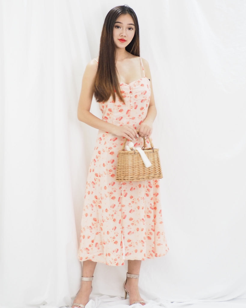 Valda Dress (ORANGE)