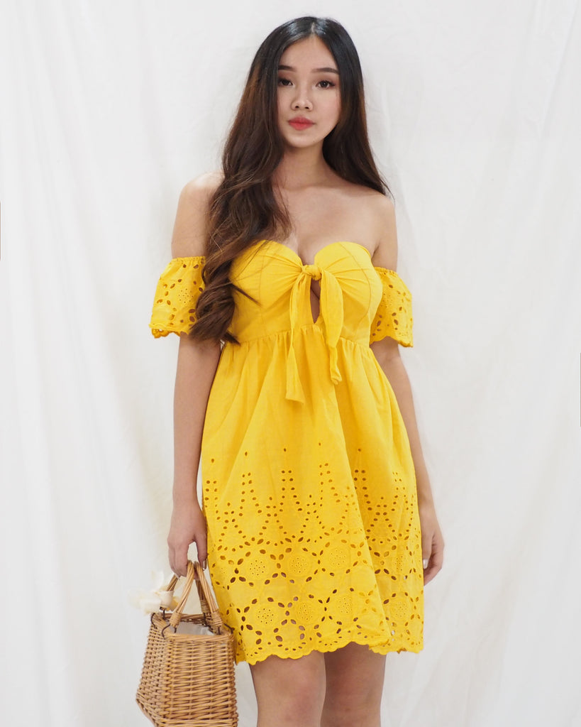 Victoria Dress (YELLOW)