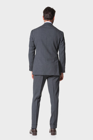 Grey Stripe 'Calm Twist' Suit