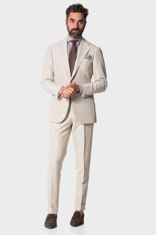 Tan Canvas Suit