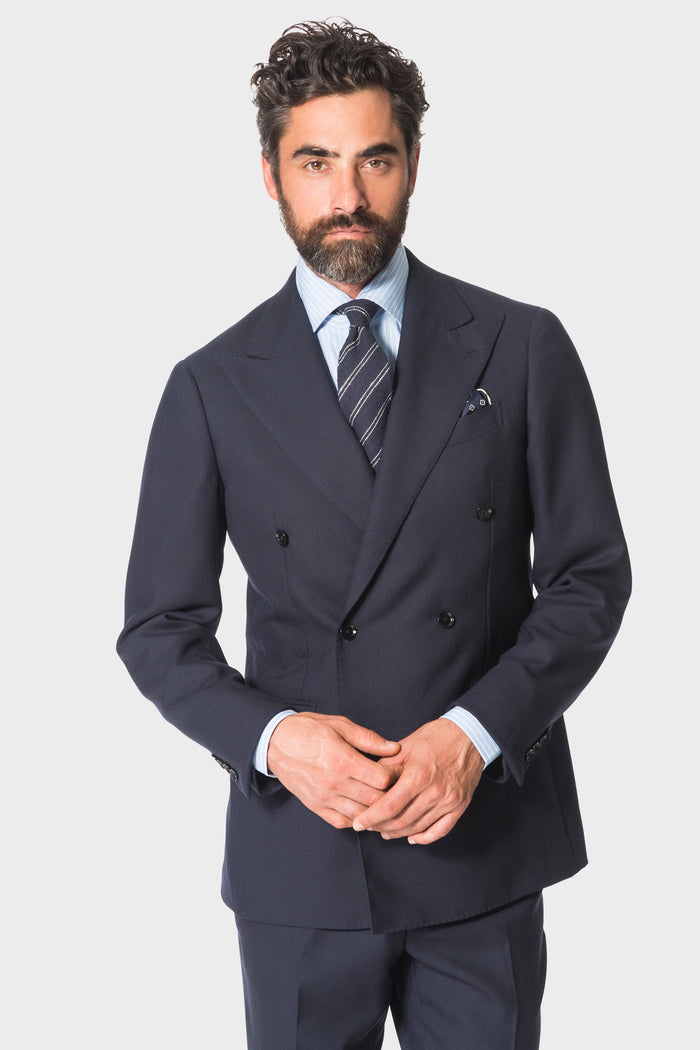 Navy 'Calm Twist' DB Suit