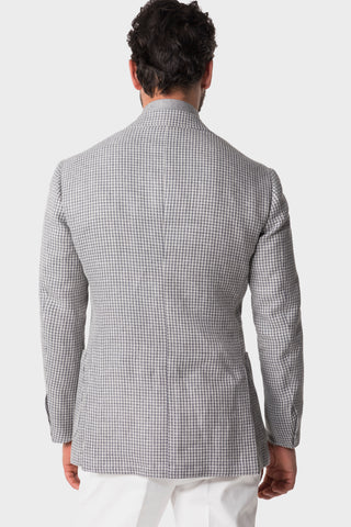 Grey Houndstooth Jacket
