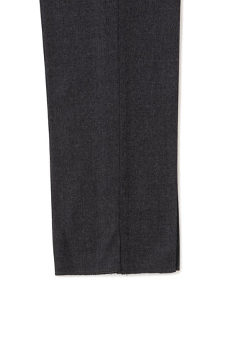 Grey Flannel Single Pleat Trousers