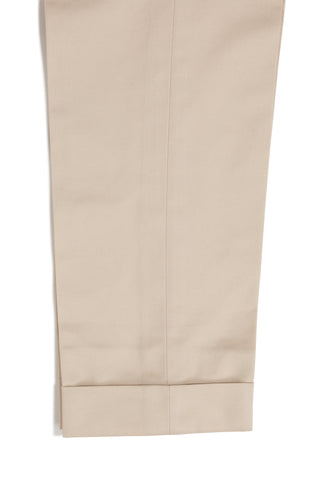 Tan Cotton Trousers