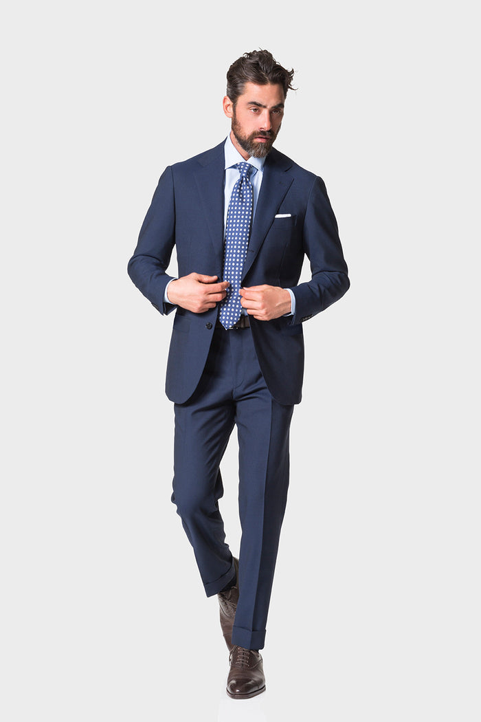 Navy 'Calm Twist' Suit