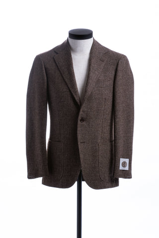 Brown Check English Tweed Jacket