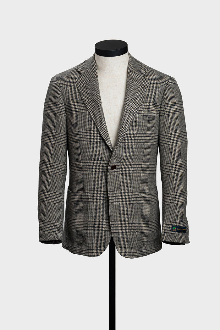 Grey & Cream Prince of Wales Jacket