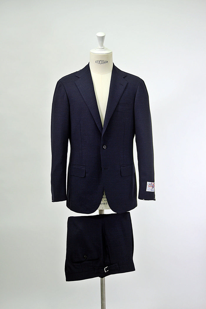 Navy 'Balloon' Fresco Suit