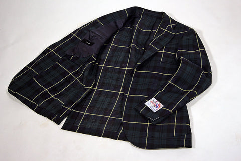 Gordon Tartan 'Balloon' Jacket