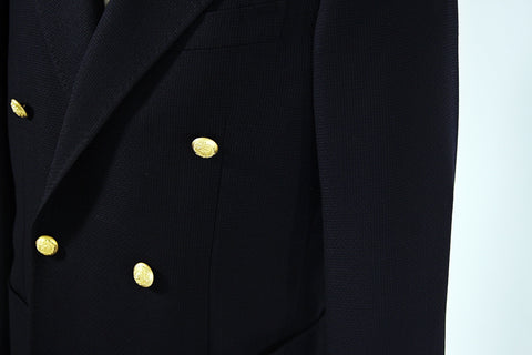 Navy 'Balloon' DB Club Blazer