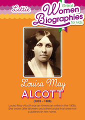 Louisa May Alcott biography for kids