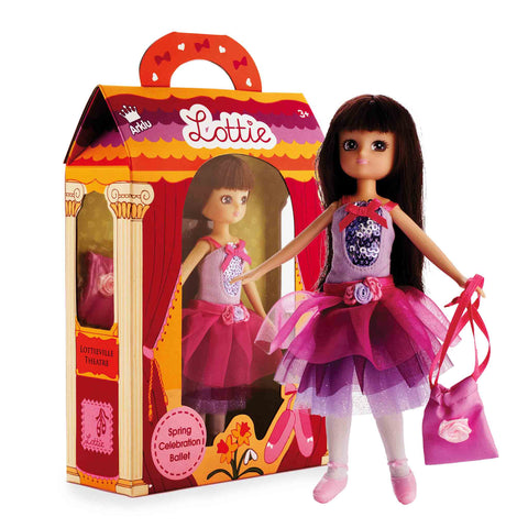 Ballet Doll | Spring Celebration Ballet Lottie Doll